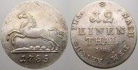 1/12 (Doppelgroschen) 1785 Braunschweig-Calenberg-Hannover Georg III. 1... 150,00 EUR  +  5,00 EUR shipping