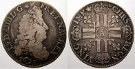 1/4 Ecu aux 8 L 1691  A Frankreich Ludwig XIV. 1643-1715. Sehr schön mi... 125,00 EUR