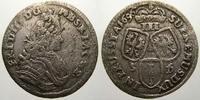 3 Gröscher 1 1696  SD Brandenburg-Preußen Friedrich III. 1688-1701. Seh... 125,00 EUR  +  5,00 EUR shipping