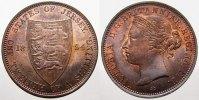 1/12 Shilling (Bronze) 1894 Jersey Victoria 1837-1901. Stempelglanz vom... 500,00 EUR kostenloser Versand