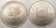 3 Reichsmark 1931  A Weimarer Republik  Vorzüglich  120,00 EUR  zzgl. 5,00 EUR Versand