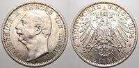2 Mark 1904  A Anhalt Friedrich II. 1904-1918. Vorzüglich-vorzüglich+  750,00 EUR kostenloser Versand