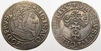 Groschen 1557 Danzig, Stadt Sigismund August 1548-1572. Selten. Überdur... 650,00 EUR free shipping