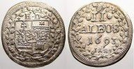 2 Albus 1693 Hessen-Darmstadt Ernst Ludwig 1678-1739. Seltener Jahrgang... 150,00 EUR  zzgl. 5,00 EUR Versand