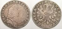 15 Kreuzer 1687  LC Brandenburg-Preußen Friedrich Wilhelm, der Große Ku... 150,00 EUR  zzgl. 5,00 EUR Versand