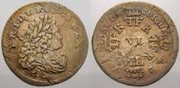 6 Gröscher 1 1704  CG Brandenburg-Preußen Friedrich I. 1701-1713. Winz.... 110,00 EUR  zzgl. 5,00 EUR Versand