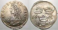 2 Mark 1662  GW Schweden Karl XI. 1660-1697. Besserer Jahrgang. Übl. Sc... 550,00 EUR kostenloser Versand