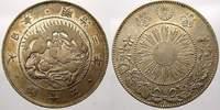 50 Sen 1870 Japan Mutsuhito 1867-1912. Fast vorzüglich von EA!  250,00 EUR