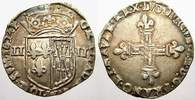 1/4 Ecu (Quart d'écu de Navarre) 1 1624  F Frankreich Ludwig XIII. 1610... 300,00 EUR free shipping