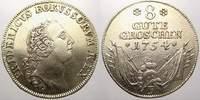 8 Gute Groschen 1754  F Brandenburg-Preußen Friedrich II. 1740-1786. Se... 1250,00 EUR free shipping