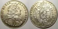 6 Kreuzer 1740 Haus Habsburg Karl VI. 1711-1740. Vorzüglich-stempelglanz  145,00 EUR  +  5,00 EUR shipping