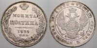 Poltina 1839 Russland Zar Nikolaus I. 1825-1855. Fast vorzüglich  250,00 EUR free shipping