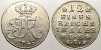 1/12 Taler 1745 Brandenburg-Preußen Friedrich II. 1740-1786. Min. Schrö... 125,00 EUR  +  5,00 EUR shipping
