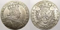 6 Kreuzer 1756  B Brandenburg-Preußen Friedrich II. 1740-1786. Winziger... 225,00 EUR  zzgl. 5,00 EUR Versand