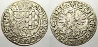 Schlesien-Liegnitz-Brieg 3 Kreuzer 1617 Fast vorzüglich mit Prägeglanz! ... 45,00 EUR  zzgl. 5,00 EUR Versand