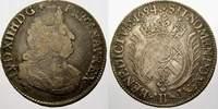 1/2 Ecu aux palmes 1694  B Frankreich Ludwig XIV. 1643-1715. Winz. Krat... 75,00 EUR