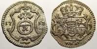 Pfennig 1753  FW Sachsen-Albertinische Linie Friedrich August II. 1733-... 30,00 EUR