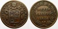 Mezzo Baiocco 1844  B Italien-Kirchenstaat Gregorio XVI. 1831-1846. Fas... 35,00 EUR