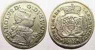 15 Kreuzer 1759 Württemberg Karl Eugen 1744-1793. Kl. Schrötlingsfehler... 110,00 EUR