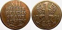 Cu 12 Heller 1791 Aachen Städtische Prägungen. Fast vorzüglich  25,00 EUR