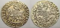 Halbgroschen 1559 Polen-Litauen Sigismund August 1544-1572. Stempelglanz  125,00 EUR