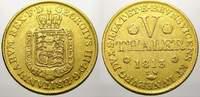 5 Taler (Gold) 1813  TW Braunschweig-Calenberg-Hannover Georg III. 1760... 650,00 EUR