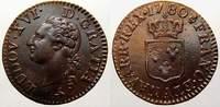 Cu Liard a l'ecu 1780  A Frankreich Ludwig XVI. 1774-1793. Vorzüglich-s... 125,00 EUR  +  5,00 EUR shipping