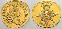 1/4 Dukat 1714 Brandenburg-Preußen Friedrich Wilhelm I. 1713-1740. Vorz... 1500,00 EUR Gratis verzending