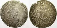6 Kreuzer 1681  I Haus Habsburg Leopold I. 1658-1705. Selten, etwas rau... 150,00 EUR  +  5,00 EUR shipping
