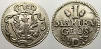 Mariengroschen 1753  D Brandenburg-Preußen Friedrich II. 1740-1786. Seh... 35,00 EUR  zzgl. 5,00 EUR Versand