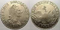 Taler (Sterbetaler) 1786  A Brandenburg-Preußen Friedrich II. 1740-1786... 350,00 EUR kostenloser Versand