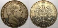 Taler (Sterbetaler) 1861  A Brandenburg-Preußen Friedrich Wilhelm IV. 1... 343.23 US$ 300,00 EUR  +  11.44 US$ shipping
