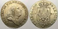 1/6 Taler (4 Groschen) 1797  A Brandenburg-Preußen Friedrich Wilhelm II... 143.01 US$ 125,00 EUR  +  11.44 US$ shipping