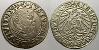 Groschen 1543 Preußen, Herzogtum (Ostpreußen) Albrecht von Brandenburg ... 57.20 US$ 50,00 EUR  +  11.44 US$ shipping