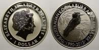1 Dollar 2015 Australien Elizabeth II. seit 1952. Stempelglanz  30,00 EUR  zzgl. 5,00 EUR Versand