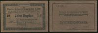 10 Rupien 1.10.1915 Die Deutschen Banknoten ab 1871 Deutsch-Ostafrika 1... 40,00 EUR  zzgl. 5,00 EUR Versand