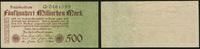 500 Mrd. Mark Reichsbanknote 26.10.1923 Die Deutschen Banknoten ab 1871... 125,00 EUR  zzgl. 5,00 EUR Versand