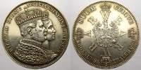 Krönungstaler 1 1861  A Brandenburg-Preußen Wilhelm I. 1861-1888. Vorzü... 55,00 EUR  zzgl. 5,00 EUR Versand