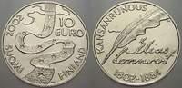 10 Euro 2002 Finnland  Stempelglanz  25,00 EUR  zzgl. 5,00 EUR Versand