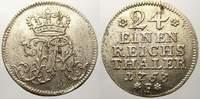 1/24 Taler 1753  F Brandenburg-Preußen Friedrich II. 1740-1786. Min. Sc... 30,00 EUR  +  5,00 EUR shipping