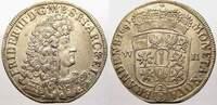 2/3 Taler 1691  WH Brandenburg-Preußen Friedrich III. 1688-1701. Kl. Za... 225,00 EUR  zzgl. 5,00 EUR Versand