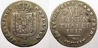 1/6 Taler 1813 Westfalen, Königreich Hieronymus Napoleon 1807-1813. Seh... 49.99 US$ 45,00 EUR  +  11.11 US$ shipping