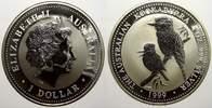 1 Dollar (Kookaburra) 1999 Australien Elizabeth II. seit 1952. Stempelg... 44.44 US$ 40,00 EUR  +  11.11 US$ shipping