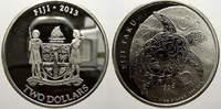2 Dollars 2013 Fidschi Elizabeth II. seit 1952. Min. berieben, Polierte... 29,00 EUR  +  5,00 EUR shipping