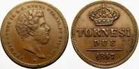 2 Tornesi 1847 Italien-Neapel und Sizilien Ferdinand II. 1830-1859. Fas... 50,00 EUR  zzgl. 5,00 EUR Versand