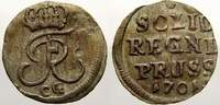 Schilling 1701  CG Brandenburg-Preußen Friedrich I. 1701-1713. Sehr sch... 25,00 EUR  zzgl. 5,00 EUR Versand