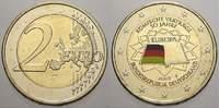 2 Euro (Farbe, coloriert) 2007  F Deutschland  unzirkuliert  8,00 EUR  +  5,00 EUR shipping