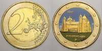 2 Euro (Farbe, vergoldet) 2014  D Deutschland  unzirkuliert  8,00 EUR  +  5,00 EUR shipping