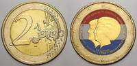 2 Euro (Farbe, coloriert) 2013 Niederlande  unzirkuliert  8,00 EUR  +  5,00 EUR shipping