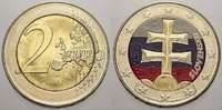 2 Euro 2009 Slowakei Euromünzen 2009Heute. unzirkuliert  8,00 EUR  +  5,00 EUR shipping